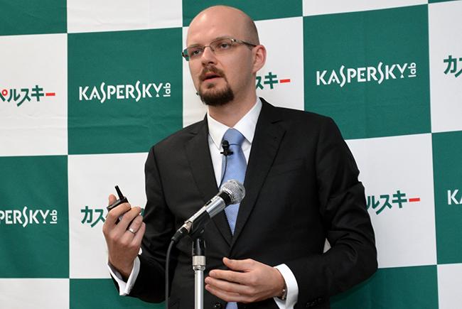 開発者責任者であるカスペルスキーラボのアルチョム・セレブロフ氏