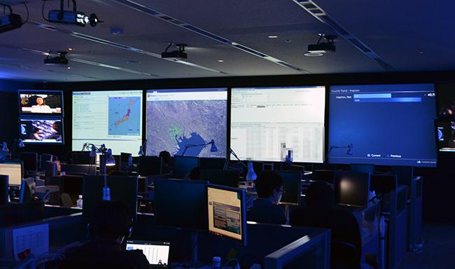 グローバルコマンドセンター(GCC)