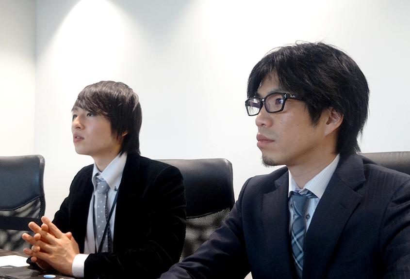 左:コンサルタント 後藤 勇人さん、右:代表取締役 田邊 克重さんの画像