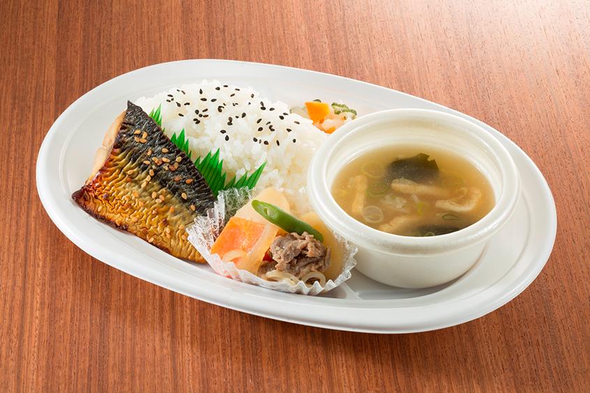 鯖のみりん焼き定食の画像
