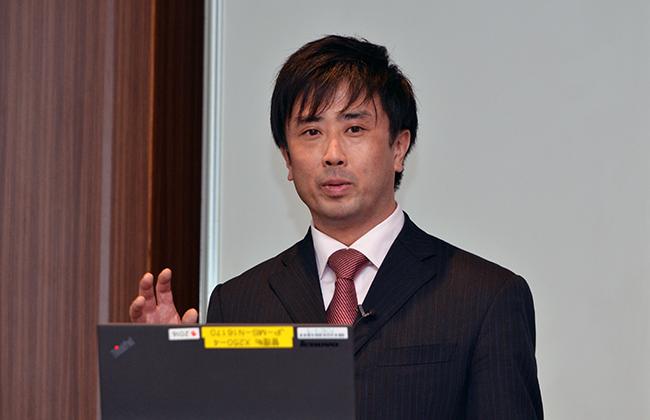 宮崎謙太郎・プロダクトマーケティング本部 コンテンツセキュリティグループ シニアマネージャ