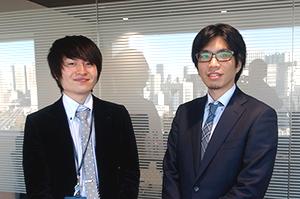 後藤勇人さんと渡邉克重さんの画像