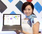 【スマートフォン&モバイルEXPO 春】Surfaceを体験展示でアピール マイクロソフト