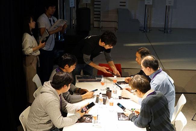 開発技術者と参加者との意見交換