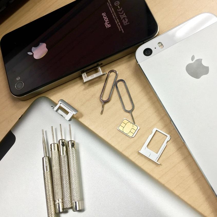 iPhoneとSIM
