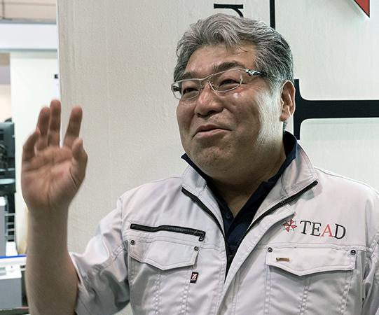 TEAD 技術開発部 佐藤佳丈氏