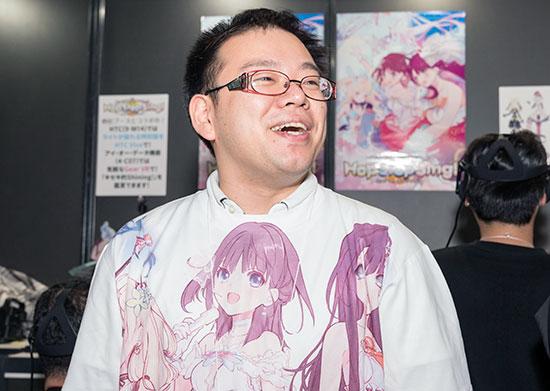 松下友一・第四事業局キャラクターVRチーム チーフプロデューサー
